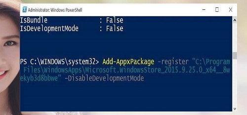Cách cài đặt lại Windows Store và các ứng dụng khác Windows 10 6