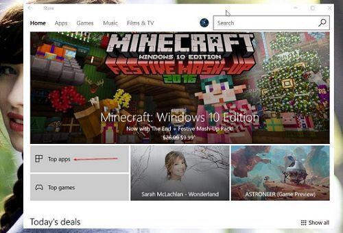 cài đặt giao diện cho Windows 10 từ Store