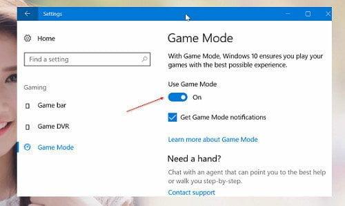 Cách cải thiện hiệu suất chơi Game tốt nhất trong Windows 10 5