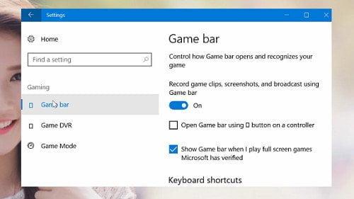 Cách cải thiện hiệu suất chơi Game tốt nhất trong Windows 10 8