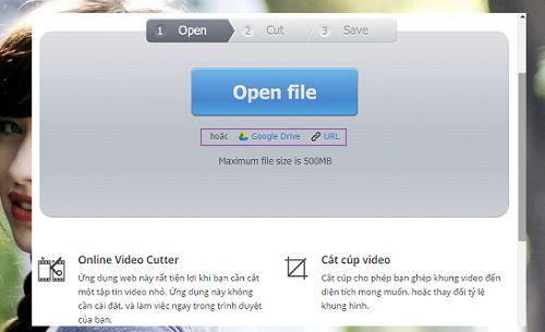 cắt video trực tuyến nhanh chóng và đơn giản nhất
