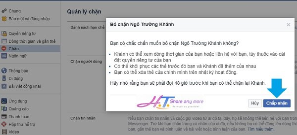 Cách chặn Facebook, bỏ chặn Facebook đơn giản nhất 5