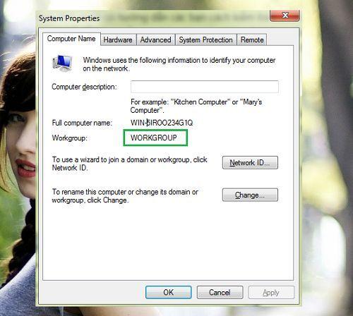 chia sẻ dữ liệu giữa hệ điều hành Windows XP và Windows 7
