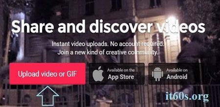 Trang chia sẻ video Viddme không cần đăng ký tài khoản