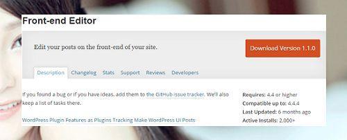 chỉnh sửa bài viết WordPress ngay trên trang chủ