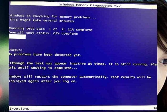 Cách chạy công cụ chẩn đoán bộ nhớ RAM trong Windows 10 3
