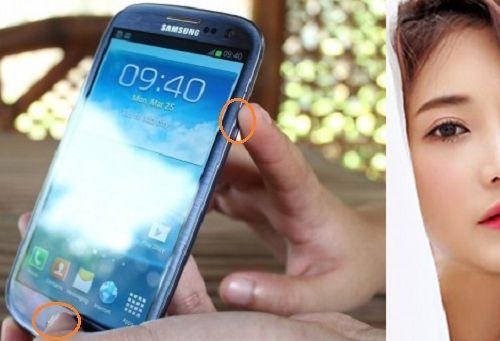 chụp ảnh màn hình điện thoại Samsung chạy Android
