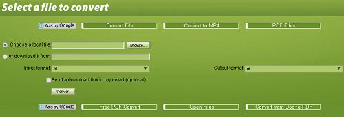 Một số trang web giúp bạn chuyển đổi file trực tuyến tốt nhất 1