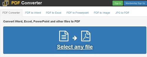 Một số trang web giúp bạn chuyển đổi file trực tuyến tốt nhất 2