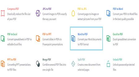 Chuyển Word sang PDF online
