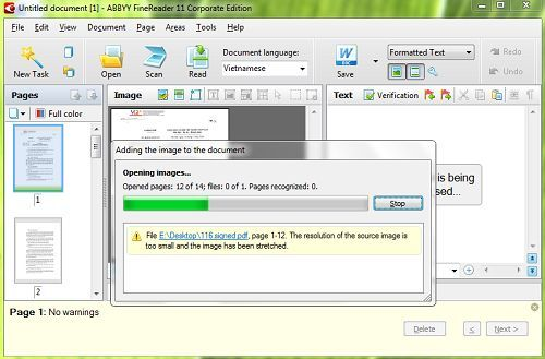 Cách chuyển file ảnh (PDF) sang văn bản đơn giản và dễ dàng 1