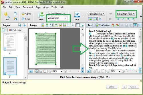 Cách chuyển file ảnh (PDF) sang văn bản đơn giản và dễ dàng 2