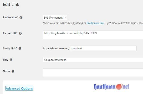 Cách rút gọn liên kết cho các trang Web tiếp thị liên kết 2