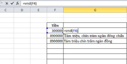 đổi số thành chữ trong Excel đơn giản và dễ dàng