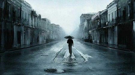 Có phải chăng mưa đã mang em đi xa tôi