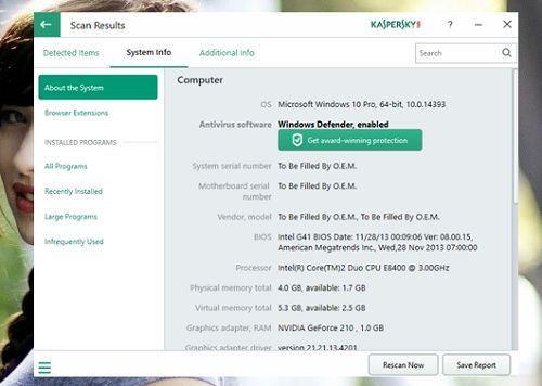 Công cụ miễn phí kiểm tra toàn bộ hệ thống Windows cực chất 4
