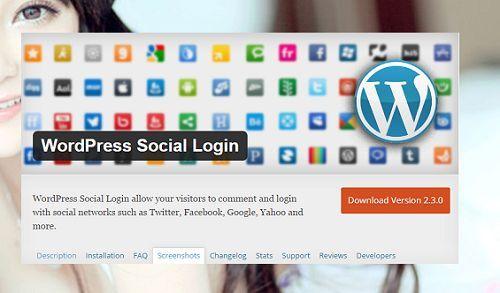 cách tích hợp đăng nhập bằng tài khoản xã hội trong WordPress