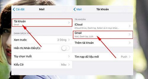 Cách đăng xuất tài khoản Gmail trên Iphone đơn giản nhất 1