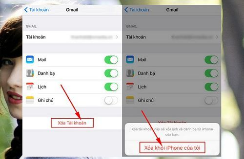 Cách đăng xuất tài khoản Gmail trên Iphone đơn giản nhất 2