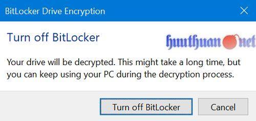 Cách sử dụng tính năng bảo vệ USB bằng mật khẩu trong Windows 10 12