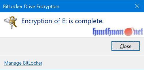 Cách sử dụng tính năng bảo vệ USB bằng mật khẩu trong Windows 10 7
