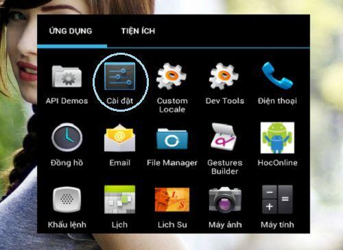 thay đổi DNS trên điện thoại dùng Android