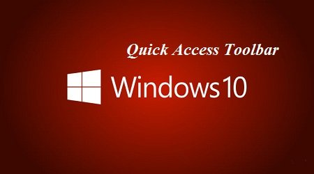 dua quick access toolbar tren windows-10 ve mac dinh