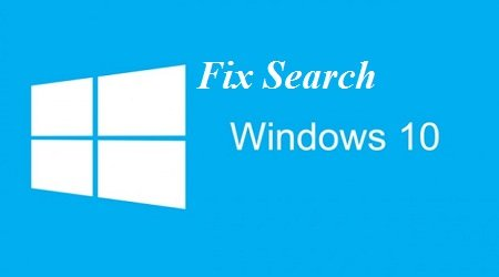 fix loi Windows Search Windows-10