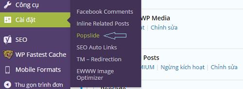 tạo cửa sổ Popup cho WordPress chuyên nghiệp