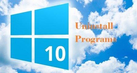 gỡ bỏ chương trình trong windows 10