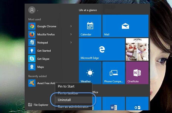 Hướng dẫn cách gỡ bỏ chương trình trong windows 10 2