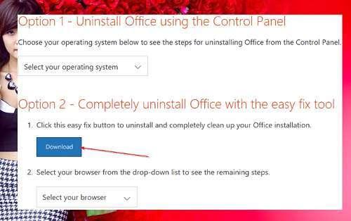 gỡ bỏ tận gốc Office 365 hoặc Office 2016 khỏi Windows 10