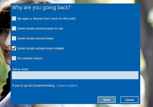 khắc phục lỗi khi nâng cấp lên Windows 10 Anniversary