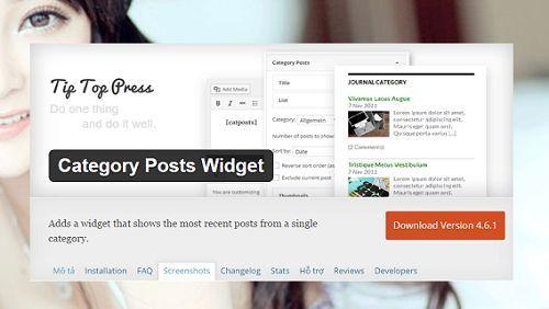 hiển thị bài viết cùng chuyên mục trong WordPress