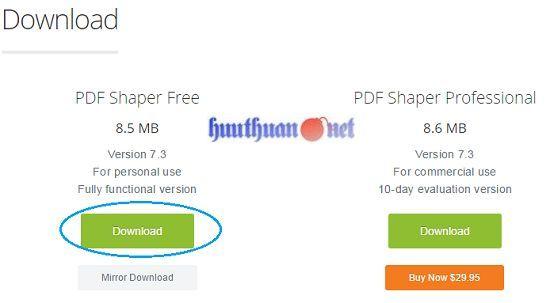Cách hợp nhất hoặc chia nhỏ các tập tin PDF đơn giản