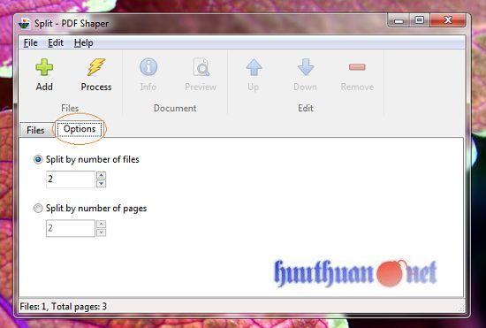 Cách hợp nhất hoặc chia nhỏ các tập tin PDF đơn giản 10