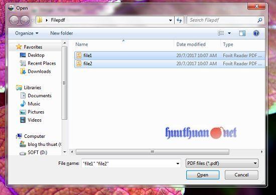 Cách hợp nhất hoặc chia nhỏ các tập tin PDF đơn giản 6