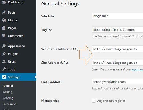 Tạo trang Web Wordpress bằng hosting miễn phí tốc độ chóng mặt 19