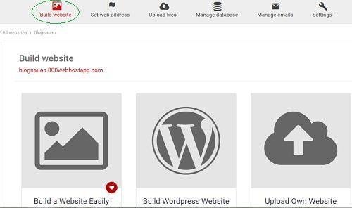 Tạo trang Web Wordpress bằng hosting miễn phí tốc độ chóng mặt 3