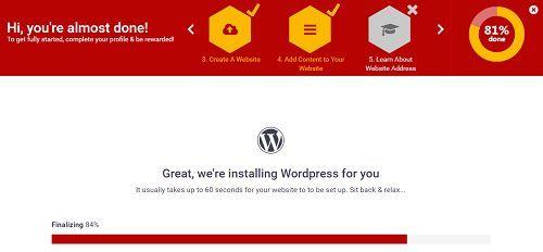 Tạo trang Web Wordpress bằng hosting miễn phí tốc độ chóng mặt 6