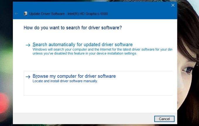 Cách khắc phục lỗi độ sáng màn hình không làm việc trong Windows 10 7
