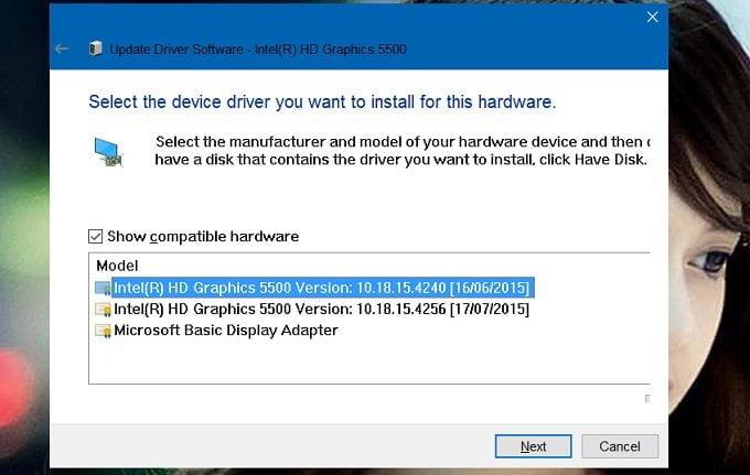 Cách khắc phục lỗi độ sáng màn hình không làm việc trong Windows 10 9