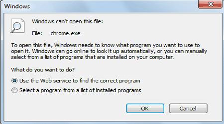 khắc phục lỗi không chạy được file exe