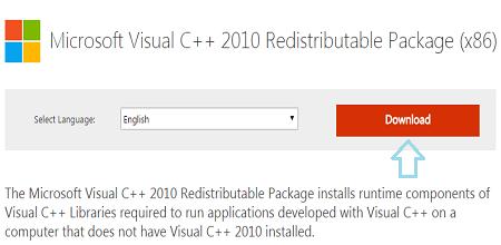 """Cách khắc phục lỗi """"msvcr100.dll"""" khi chạy các phần mềm"""