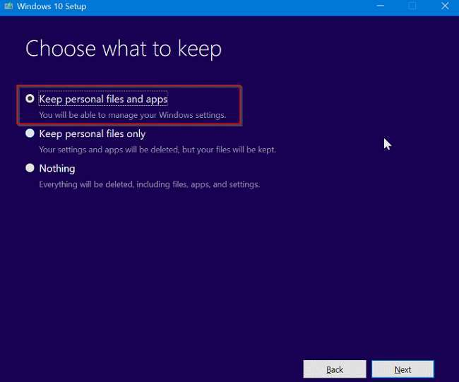 How to fix Windows 10 without losing apps and data 8
