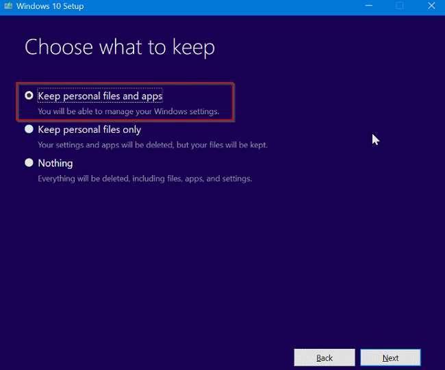 Cách sửa chữa Windows 10 không làm mất ứng dụng và dữ liệu 8