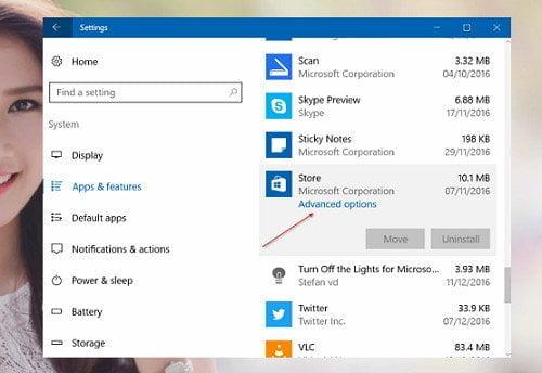 Cách khởi động lại cửa hàng (Windows Store) trong Windows 10 2
