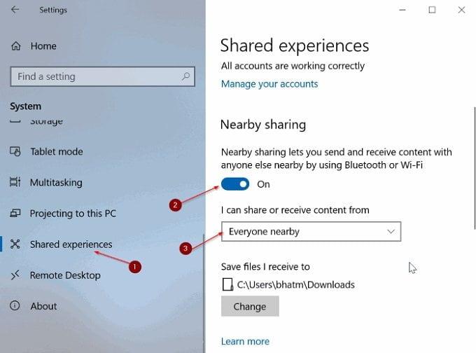 Cách chia sẻ tập tin giữa hai máy tính sử dụng Windows 10