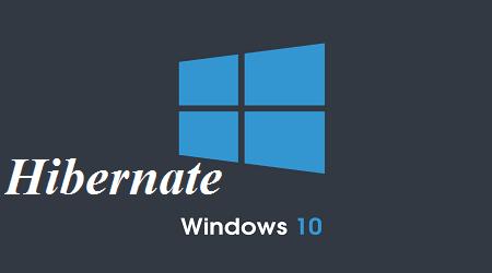 Cách kích hoạt tính năng Hibernate trong Windows 8/10