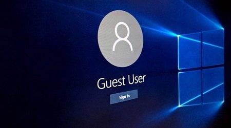 Cách kích hoạt tài khoản Guest trong Windows 10